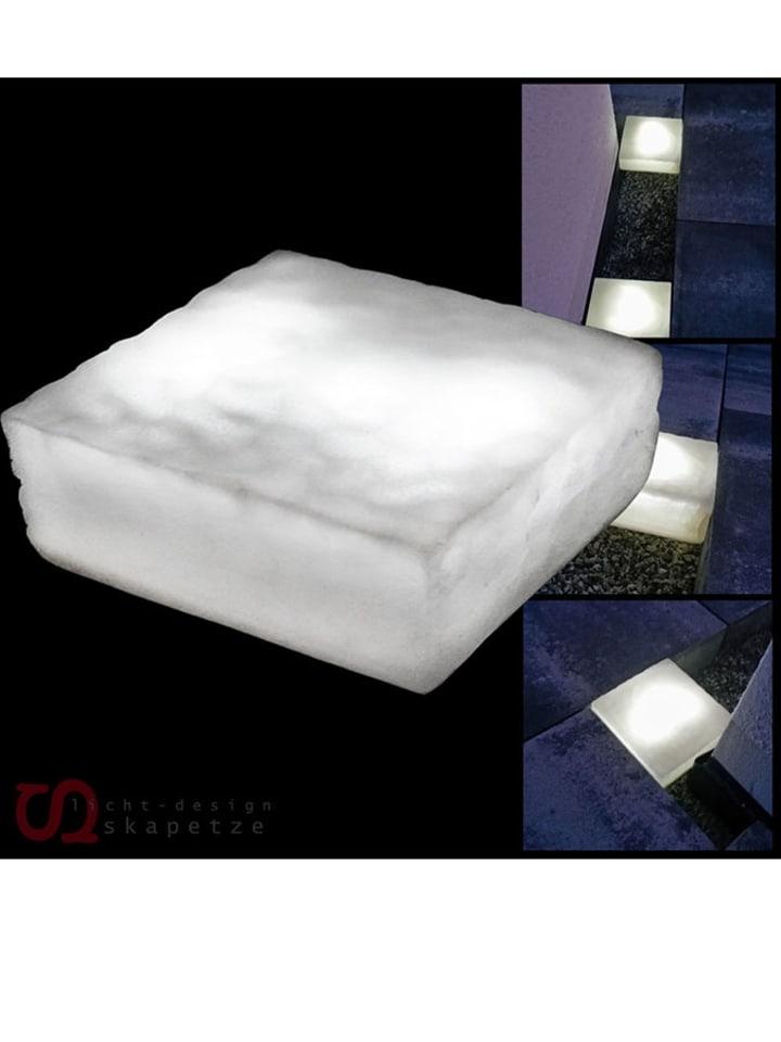 skapetze led solar steenlamp patch wit b 15 cm. Black Bedroom Furniture Sets. Home Design Ideas